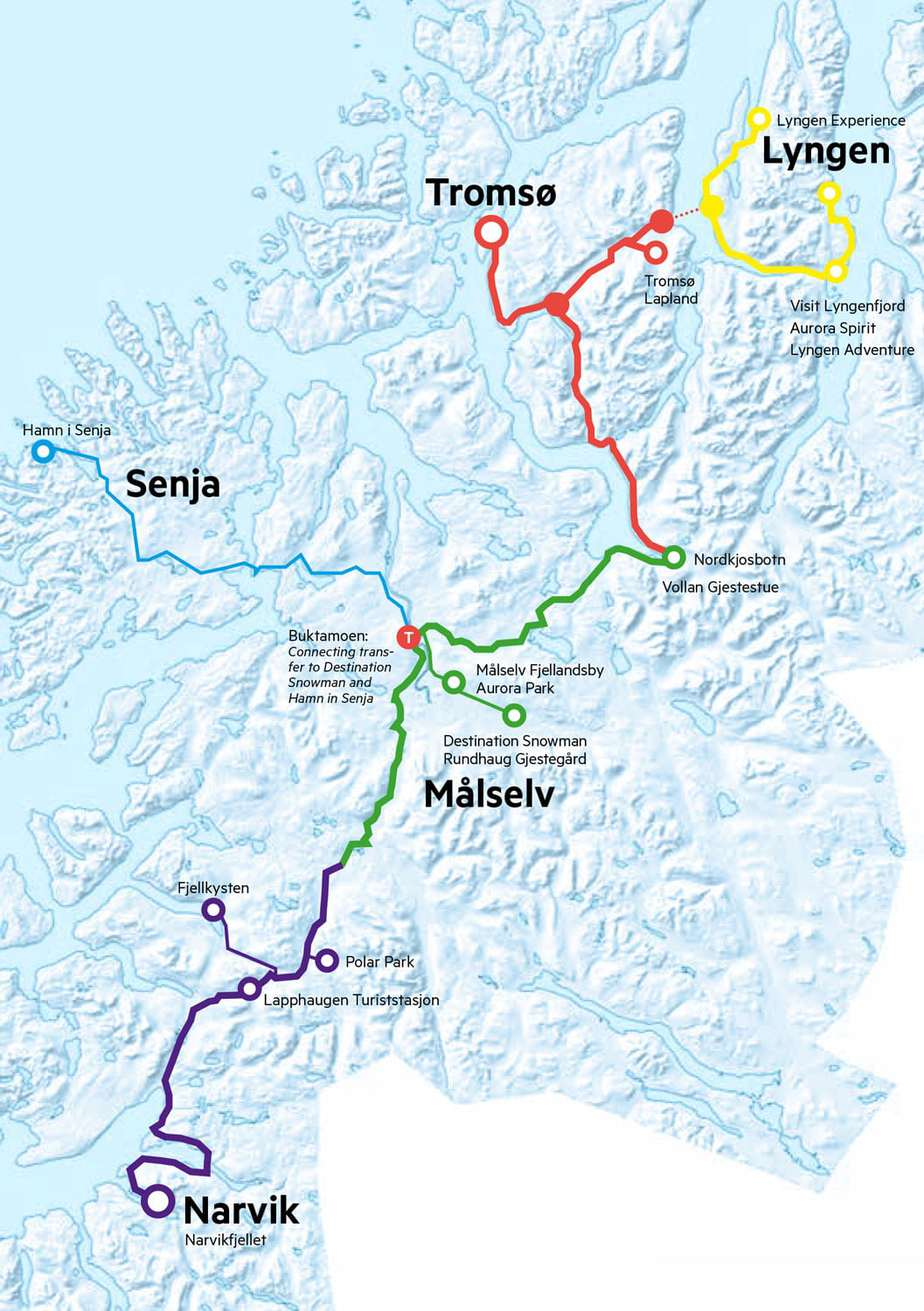 experience-tromso-region-map